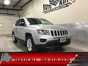 2012 Jeep Compass Sport/North / 4x4 / Low Kms / FINANCING