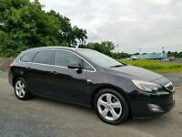 December 2011 Vauxhall Astra 2.0 CDTI SRI 165bhp S/S Estate, LOW MILES! VAUXHALL SERVICE HISTORY