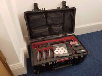 Rotolight Neo 3 x LED Video Light Kit plus 2 x Barn Doors