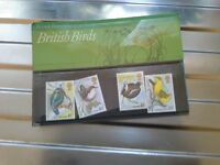 SET OF 4 BIRD STAMPS BY BRITISH POST OFFICE 1980