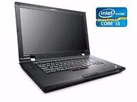 LENOVO INTEL CORE I3 15.6 8GB 500GB HDD DVD Windows 7 Laptop