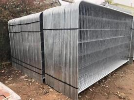 ⛓ 50 X Temporary Heras Fencing Panels > New