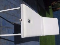 MASSAGE TABLE, Portable, Adjustable,with carry handles