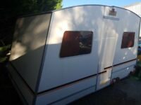 Vintage Rapido Folding Caravan