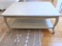 Coffee Table Louis XV Style Rectangular