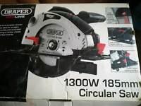 Draper circular laser saw