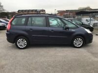 2008 citron grand picasso, 7 seater, 1.8 petrol