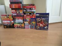 Reduced Job lot Manchester United VHS tapes