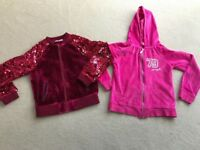 Girls zip up hoodie/jackets