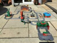 Thomas the Tank Engine take and play sets with extra track
