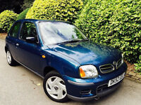 **13SERV STAMPS+SUPER LOW MILES** NISSAN MICRA 1.0 S + FULL SERV HISTORY + 1PENSIONER OWNER + CLEAN!
