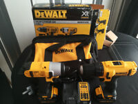 New Dewalt cordless drill and impact driver.