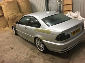 3 Series BMW 1.8 Coupe £1000 on