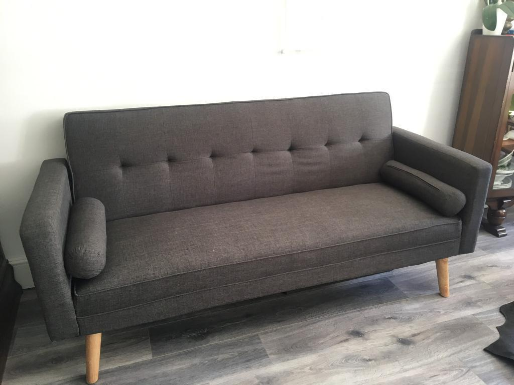 3 Seater Boston Fabric Sofa Bed
