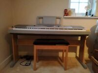 Yamaha portable grand DGX620 in excellent condition from a smoke and animal free home