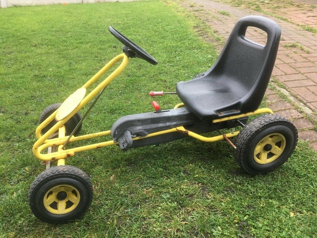 Kettler Go Kart. Adjustable Seat. Drive And Neutral Engage. Good Wheels. Needs A Little TLC