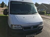 Fiat Ducato 18 JTB LWB 2006 low mileage! 12 months mot! Still insured and taxed! AA/rac welcome!