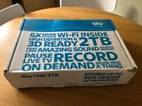 Sky 2tb HD Wi-Fi box (Brand new)