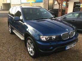 2002 BMW X5 SPORT 3.0D AUTO BLUE LOVELY EXAMPLE