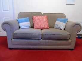 3 piece suite - one sofa and 2 armchairs from Delcor Furniture Ltd. Great condition