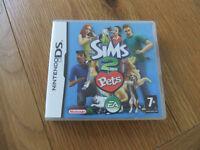 Nintendo DS Sims 2 Pets