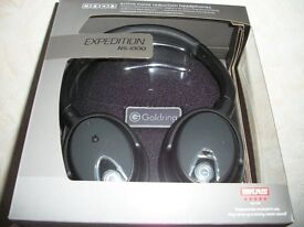 HEADPHONES - GOLDRING NS1000 EXPEDITION FOR SALE