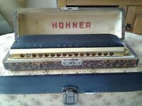 "HOHNER ""SUPER 64X"" PRO CHROMATIC HARMONICA"