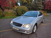 Mercedes Benz CLK200 Kompressor Avantgarde | 2005 (55) | Automatic | Petrol 1.8 | 71k Miles