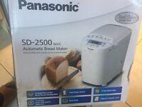 Panasonic SD-2500wxc bread maker - brand new in box