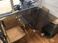 Conservatory table with 2 chairs