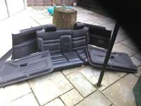 Audi s3 rear seats and door cards mint
