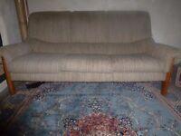 G Plan Sofa, Oatmeal colour, Good Condiion