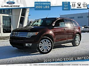 2010 Ford Edge **LIMITED*AWD*CUIR*TOIT*NAVI*A/C**
