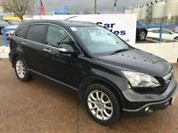 HONDA CR-V 2.0 I-VTEC EX 5d AUTO 148 BHP A GREAT EXAMPLE INSIDE AND OUT (black) 2008