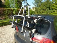 Thule Cycle Carrier - Carries one or two bikes, strong adjustable frame and clamps.