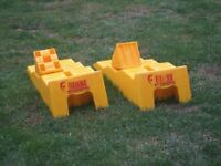 Leveller kit for caravan (single or twin axle) FIAMMA with chocks