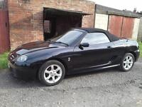 MG TF 1800 BLACK SOFT TOP