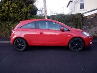 Vauxhall Corsa 1.4i (90ps) SRi Eco-FLEX Hatchback 3d Petrol. Immaculate.
