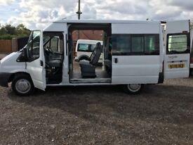 Transit 9 seater mini bus