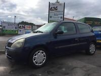 2001 RENAULT CLIO 1.2 3 DOOR HATCH BACK ONLY £395!!! LOW INSURANCE GROUP!!!