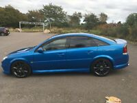 Vauxhall Vectra VXR in Arden Blue 2.8L V6 turbo, 280 BHP+ with super chips conversion.