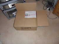 Ion classic turntable, boxed as new.