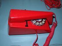retro 70s phone