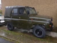 UAZ 469b - very rare russian 4x4