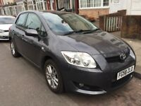58 plate toyota auris 1.4 d4d. low milage 68k.prev lady owner.