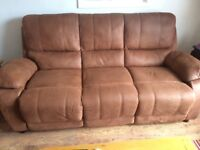 For sale 2 seater and 3 seater sofa Excellent condition