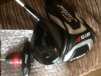 MINT Titleist F2 16.5 3 wood Stiff with headcover.