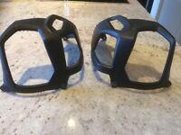 BMW crash bar cylinder protector plastic kit