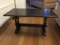 Coffee Table - dark Oak by Jaycee Solid wood.