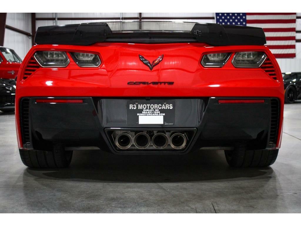2017 Red Chevrolet Corvette Z06 3LZ   C7 Corvette Photo 4